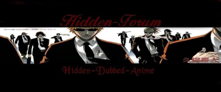 Hidden-Anime-Forum